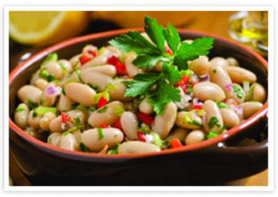 Fagiolo all'Olio (White Beans with Olive Oil and Herbs)