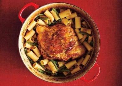 Roasted Pork Shoulder with Rigatoni