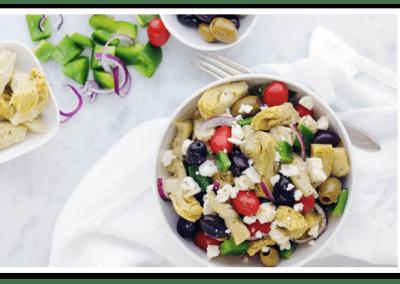Artichoke and Feta Salad