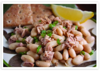 Beans with Tuna