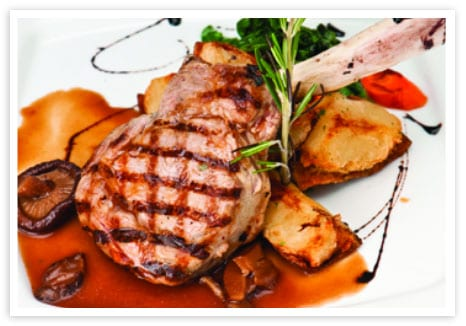 grilled veal chops with balsamic sauce bosa foods. Black Bedroom Furniture Sets. Home Design Ideas