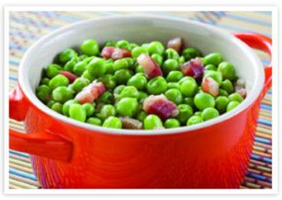 Piselli Freschi con Pancetta (Spring Peas with Pancetta)
