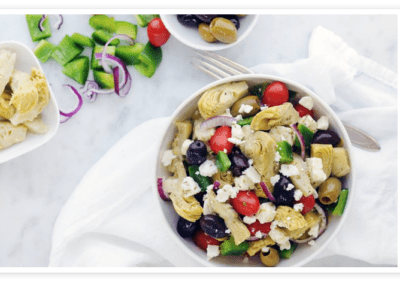 Artichoke and Feta Salad