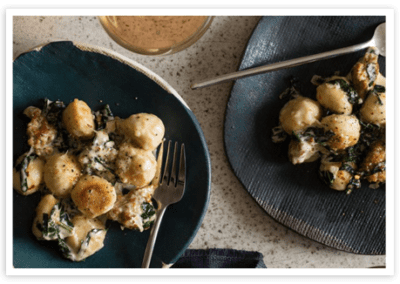 Baked Gnocchi with Sausage and Kale