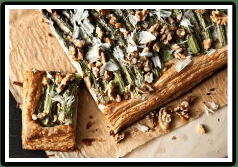 Mascarpone Asparagus Tart